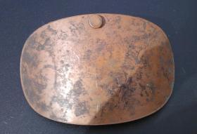 Foto 5 4 antike Bettwärmer und ein antiker Bauch- oder Nierenwärmer