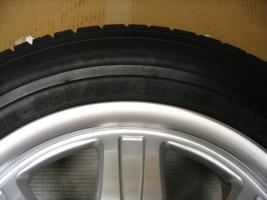 Foto 6 4 gebrauchte Michelin Primacy Pilot Sommerkompletträder SLK Mercedes Benz  incl. 7 Speichen Leichtschmiedefelge 16 Zoll