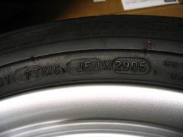 Foto 7 4 gebrauchte Michelin Primacy Pilot Sommerkompletträder SLK Mercedes Benz  incl. 7 Speichen Leichtschmiedefelge 16 Zoll