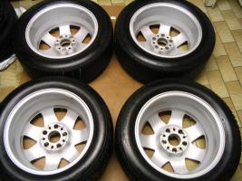 Foto 8 4 gebrauchte Michelin Primacy Pilot Sommerkompletträder SLK Mercedes Benz  incl. 7 Speichen Leichtschmiedefelge 16 Zoll