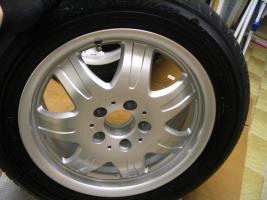 Foto 11 4 gebrauchte Michelin Primacy Pilot Sommerkompletträder SLK Mercedes Benz  incl. 7 Speichen Leichtschmiedefelge 16 Zoll