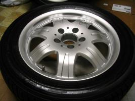 Foto 13 4 gebrauchte Michelin Primacy Pilot Sommerkompletträder SLK Mercedes Benz  incl. 7 Speichen Leichtschmiedefelge 16 Zoll