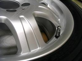 Foto 15 4 gebrauchte Michelin Primacy Pilot Sommerkompletträder SLK Mercedes Benz  incl. 7 Speichen Leichtschmiedefelge 16 Zoll
