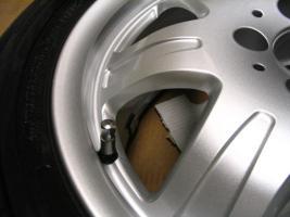 Foto 17 4 gebrauchte Michelin Primacy Pilot Sommerkompletträder SLK Mercedes Benz  incl. 7 Speichen Leichtschmiedefelge 16 Zoll