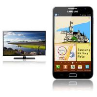 40'' LED-TV Samsung + Samsung Galaxy Note N7000 D1 Tarif