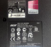 Foto 2 +4161 271 3782Acer Aspire V5 571 serie Model Nr MS2361 Windows 8