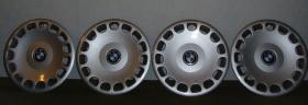 4x original BMW Radzierblenden (Radkappen) 15 Zoll gebraucht