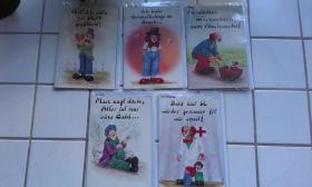 5/10 Gildeclownskarten neu, original verpackt
