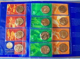 5 Dollar Olympiamünzen Sydney 2000