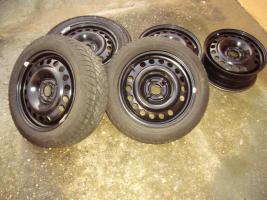 5 Stahlfelgen für Opel