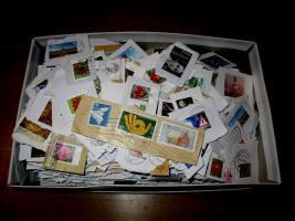 5 kg Briefmarken-Kiloware BRD