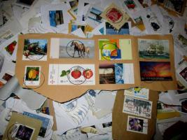 Foto 2 5 kg Briefmarken-Kiloware BRD