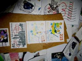 Foto 3 5 kg Briefmarken-Kiloware BRD