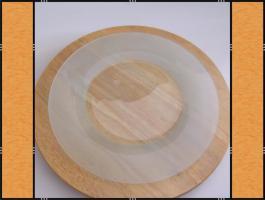 5 x Teller, Platzteller, (33 cm)