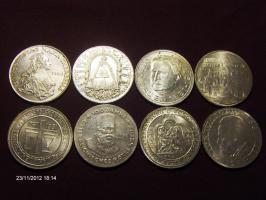500 schilling  Silbermuenzen