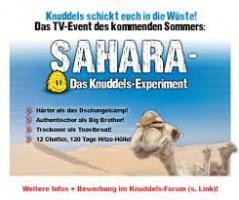 500€ Spende damit ich eine Sahara-Experiment Teilnehmen kann!!!