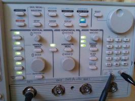 500MHz Tektronix TDS 520A digitales 2-Kanal Speicher oszilloskop