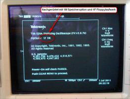 Foto 2 500MHz Tektronix TDS 520A digitales 2-Kanal Speicher oszilloskop