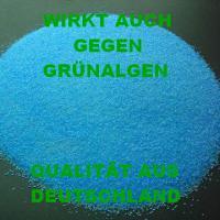 500g Kupfersulfat, Kupfervitriol, Poolpflege gegen Algen -> spart 50% Chlor!