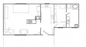 Foto 10 56m2 massives Kleinhaus, Fußbodenheizung, Klimaanlage, Gartenteich, Gasheizung, ganzjährig nutzbar!