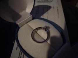 Foto 3 585er Weissgold Diamantring