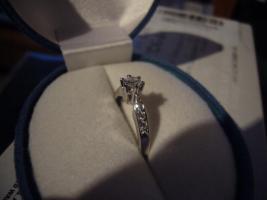 Foto 7 585er Weissgold Diamantring