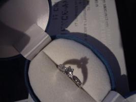 Foto 8 585er Weissgold Diamantring
