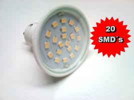 Foto 2 5,0W GU10 E14 E27 Sockellampe 120° SMD / LED WOW Angebot Energiesparlampe