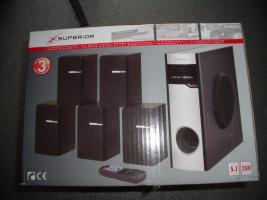 5.1 Lautsprecher System komplett NEU Orginal verpackt