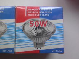Foto 2 6 Halogenlampen, 50 Watt