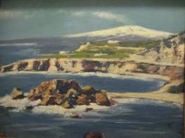 Foto 6 6 Originale(Öl, Pastell) des Malers Otto Arndts