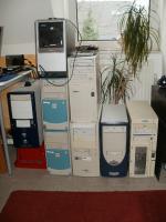 Foto 3 6 PC´s Computer Rechner zu verkaufen - 2- 3 GHz  1 GB Arbeitsspeicher - 120 GB Platte