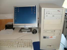 Foto 9 6 PC´s Computer Rechner zu verkaufen - 2- 3 GHz  1 GB Arbeitsspeicher - 120 GB Platte
