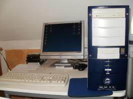 Foto 13 6 PC´s Computer Rechner zu verkaufen - 2- 3 GHz  1 GB Arbeitsspeicher - 120 GB Platte