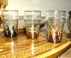 Foto 3 6 Wunderschöne mundgeblasene Gläser aus echter Handarbeit.