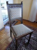 6 antike Stühle Gründerzeit
