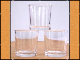 Foto 6 60 Votivgläser, Teelichthalter in verschiedenen Designs