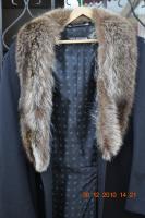 60er JahreDaniel Hechter    Desinger Mantel  mit Pelzkragen .... Gr. 26 ...