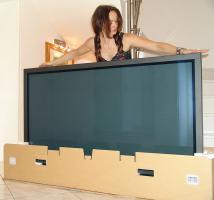 65 Zoll - Panasonic TH-65PF12 FHD HDTV Plasma, 165 cm Diagonale: 1920 x 1080 Pixel! Sehr hell+ leise