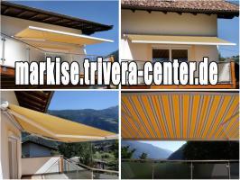 6,0 x 3,5m Balkon Hülsen Markise, statt 4660, - € - NUR 1650, - €
