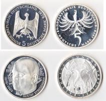 Foto 3 6x Silbermünzen