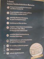 Foto 2 7-Zonen Allergiker Tonnenfaschenfederkernmatratze 140/200