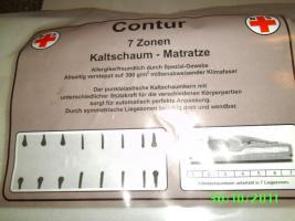 7-Zonen Kaltschaummatratze 140x200 cm NEU!!!