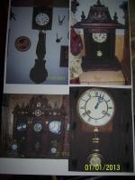 7 antike Uhren, wert ca. 5000,00 €