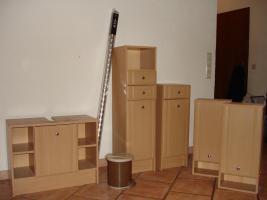 7 teiliges Badmöbel Set / buche plus weiteres Zubehör