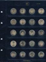 72 Stück 2 Euro Gedenkmünzen von 2004 bis März 2013 Niederlande Bankfrisch . .
