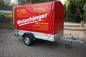 750 kg Pkw Anhänger Kfz Mietanhänger leihen in Ahrensburg