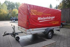 Foto 2 750 kg Pkw Anhänger Kfz Mietanhänger leihen in Ahrensburg