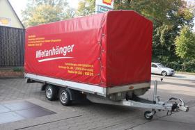Foto 3 750 kg Pkw Anhänger Kfz Mietanhänger leihen in Ahrensburg