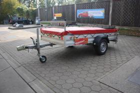 Foto 4 750 kg Pkw Anhänger Kfz Mietanhänger leihen in Ahrensburg
